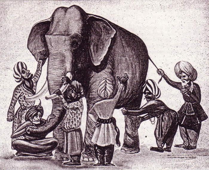 Incomprensioni e Conflitti - I sei ciechi e l'elefante - UYM