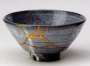 La perfezione e le cicatrici d'oro - Kintsugi - UYM