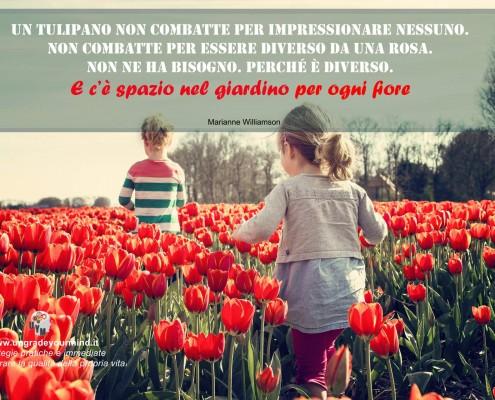 Immagini con Frasi - Tulipano
