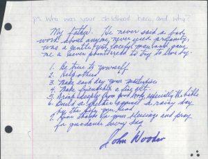 Differenza tra vittoria e successo - 7 punti di John Wooden