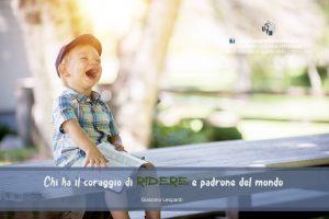 Immagini del buongiorno - il coraggio di ridere - uym
