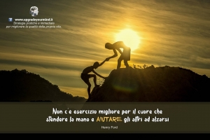 Immagini per riflettere - Aiutare gli altri - uym