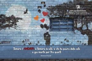 Immagini con Aforismi significativi - Amore e Paura - uym
