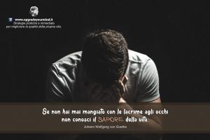 Frasi sulla vita per ritrovare benessere e serenità - pianto e vita - uym