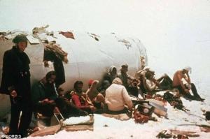 Disastro Aereo delle Ande - la valanga - uym