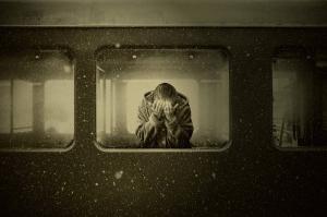Il Treno della Vita salire o aspettare in stazione - Il treno della vitasono salito sul treno della vita ma... - uym