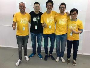 Diventare una persona di Successo - Andrea Di Rocco - Start Up Week End Hong Kong - Winners