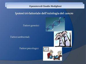 Psicosomatica - il pensiero di Claudio Modigliani - Dott.ssa Fabiola Fortuna - uym