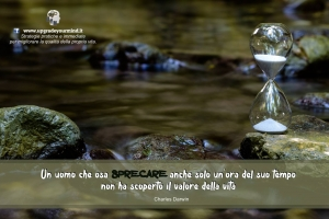 Immagini per riflettere - Sprecare il tempo - uym