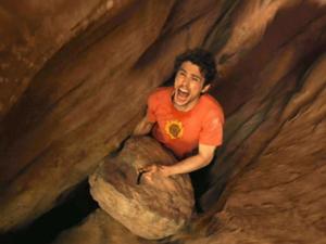 Aron Ralston - non arrendersi mai - il sasso - uym